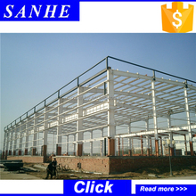 hebei industrial structural steel used storage sheds sale