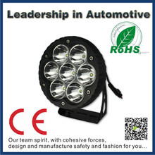 E-mark IP68 waterproof 12v 7inch 70w LED work light, auxiliary light , driving light headlight for jeep,truck,offroad,boat.