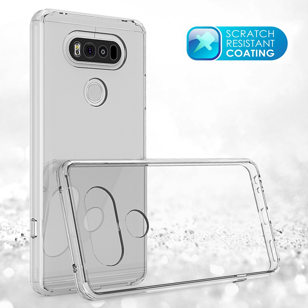 Factory price TPU Bumper Transparent Acrylic Combo Case Back Cover for LG V20/V11 Transparent Covers