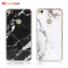 Soft Silicon Case Marble Pattern Skin Gel Case Cover for Huawei P8 Lite 2017 Honor 8 Lite P9 Lite 2017 Phone Back Case