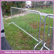 heavy duty galvanized crowd barrier/safety metal siding road fence