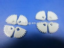Custom small plastic gear for electric motor