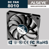 Alseye CB2309 manufacture new products cpu cooler fan 80mm brushless dc fan for car