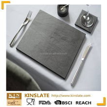 100% natural black slate tableware with customized design for hotel at competitive price