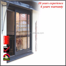 Cheap Aluminium Casement Window Australia Standard Opening Window Double Glass Vertical Hinged Aluminum Profile Window
