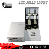 Guangzhou auto parts led headlight wholesale 6g led luces moto 80w 10000lm h4 h7 h11 9005 9006 6s led