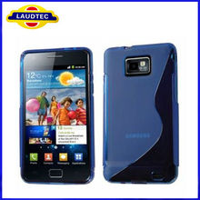 Soft S Line TPU Gel Case Cover for Samsung Galaxy S2 S II i9100