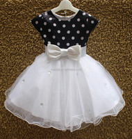 Short sleeve children flowers dresss kids Princess Dresses children wedding dress new kids party dress L617