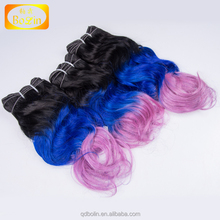 Remy human hair weft sale double drawn 100%human hair extension bulk buy from China
