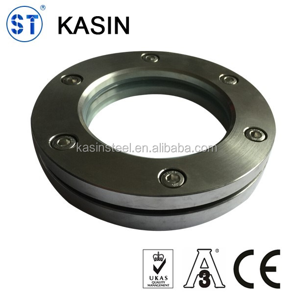Stainless steel sanitary high pressure flanged sight glass