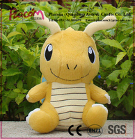 Special Cheap Hot Sale Pokemon Figure Plush Toy Dragonite Nintendo Game Cute Stuffed Animal Doll for Promotion