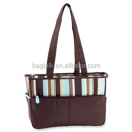 Fashion Multifunction Baby Daiper Bag Microfiber Diaper Bag DM0068