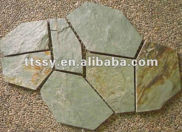 Chinese meshed slate paver