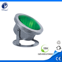 15W par 56 led swimming pool lights with LED pool light wall mount