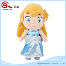 New Design Giallo Capelli Eco-Friendly childrenhood <span class=keywords><strong>Cenerentola</strong></span> Cartoon bambola di Pezza