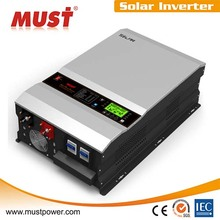6000w 24/48v hybrid solar inverter with MPPT charger for solar power system for home and government