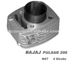 High quality motorcycle cylinder for BAJAJ CT100,DISCOVER125,DISCOVER135,PULSAR 135,PULSAR180, PULSAR 200