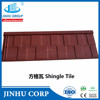JINHU manufacturer stone chip coated metal roof tile in kerala