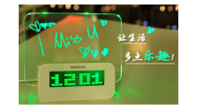 Table Clock Momo Board Clock Alarm Clock Various Hot Selling