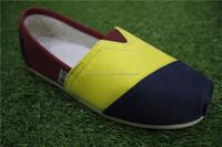 china cheap mens stock canvas shoes
