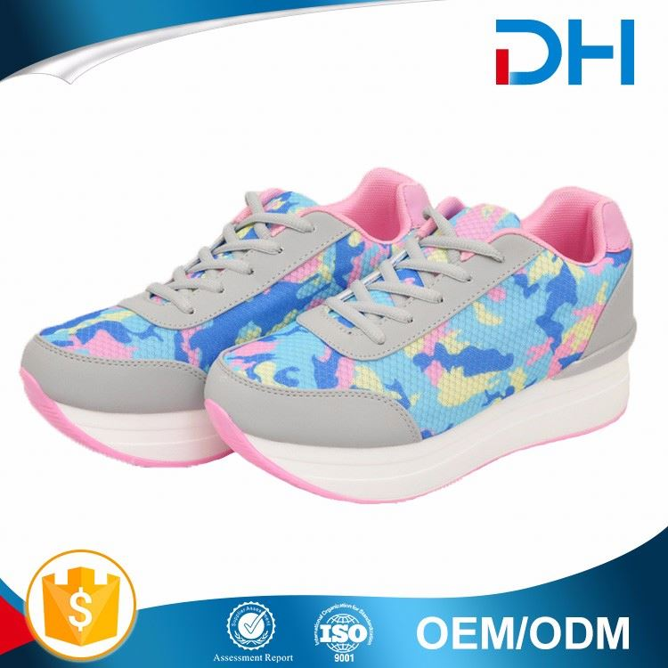 Cheaper long use main product colorful big size women shoes