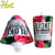 Poly Stand up spout bag Matte surface Food wrapping spout pouch foil lined for drink,spice,powder