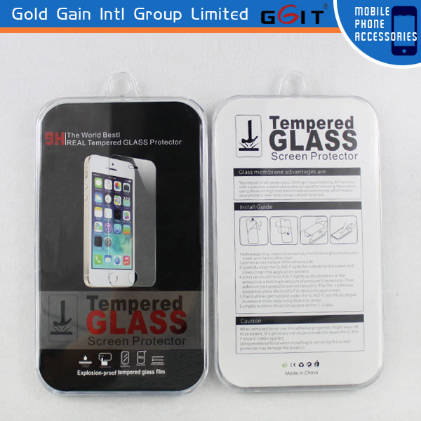 Hot Sell Tempered Glass Screen Protector For IPhone 5 Screen Protector