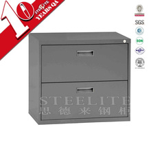 Desktop 2 drawers file cabinets steel filing cabinet