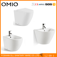 Sanitary ware set ceramic bathroom 3 piece set toilet suit