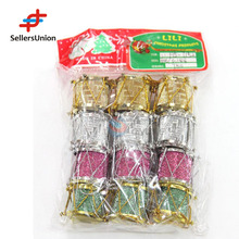 No.1 yiwu exporting commission agent wanted 12 pcs christmas tree decoration fashion colorful christmas ornament drum