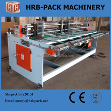 Corrugated cardboard automatic feeder machine for making carton box