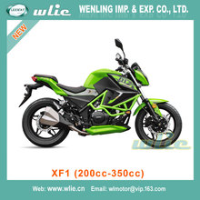 CHEAP fashion model design motorcycle comfortable big power 250cc gas scooter Racing Motorcycle XF1 (200cc, 250cc, 350cc)