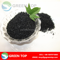 leonardite origin potassium humate shiny flake potassium fertilizer/humic acid/potassium humate