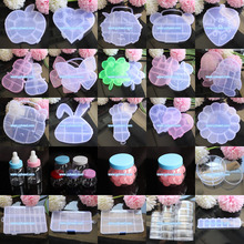 Factory Wholesale Clear Grade A Plastic Animal Shaped Candy Gift Jewelry Box/Case/Container