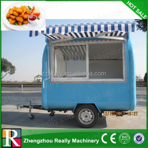 2015 HOT SALES BEST QUALITY food car with vedio food car on street running double-layer stainless steel food car