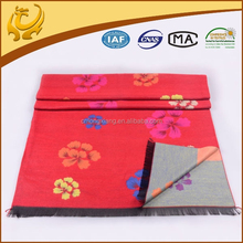 India Jacquard Woven Cotton Material Factory Wholesale Turkish Pashmina Shawl In The Winter