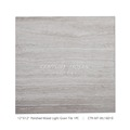 12x12''Polished White Wooden Light Grain Marble