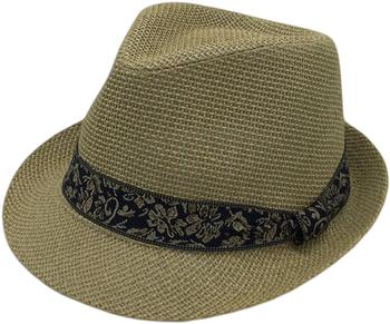 Best Seller Fedora Hat Paper Fabric 2''brim