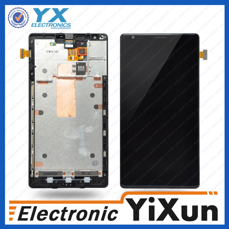 Alibaba express for nokia lumia 1020 lcd screen display + digitizer touch glass + frame assembly oem, for nokia n8/c7 lcd