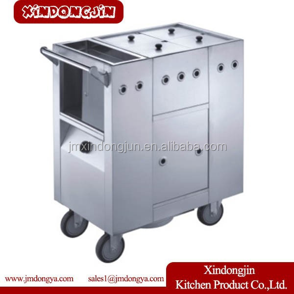 CC-4 catering equipment conjee cart medical equipment carts soup cart
