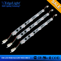 super bright 360mm edgelit light source led strip with lenses for led canvas light box edge light display
