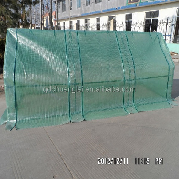 cold frame with pe mesh cover mini green house