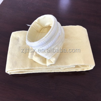efficiency PTFE dust collector bag for textile waste incinerator