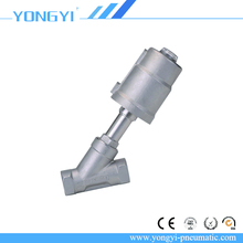 JZF Series Stainless Steel Double Acting Two-way Angle control Valve