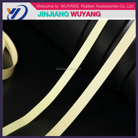 New design cheap rubber bands colorful elastic band latex natural rubber tape in factory