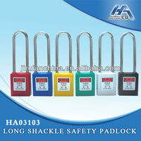 Long Shackle Safety Padlock 78mm LOTO Product