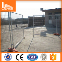 ISO9001 Australia standard factory galvanized temporary metal fence removable temporary construction fence portable fence sales