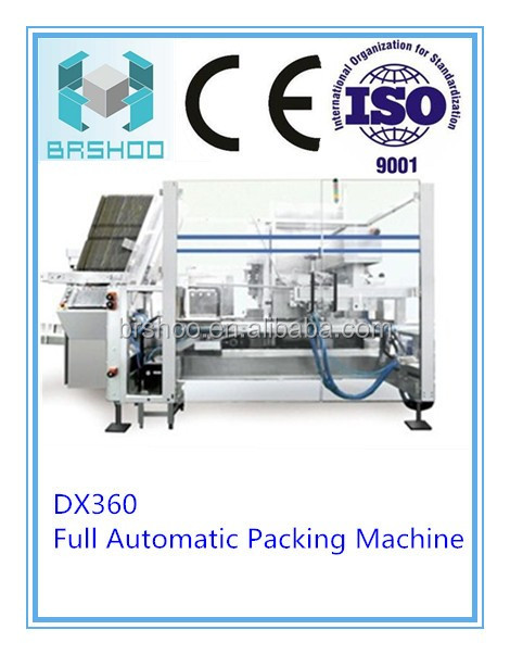 BRSHOO DX360 Automatic Over Wrapping Machine Packaging machine