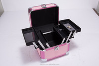 New Design Professional Aluminum Portable Beauty Box Makeup Vanity Case