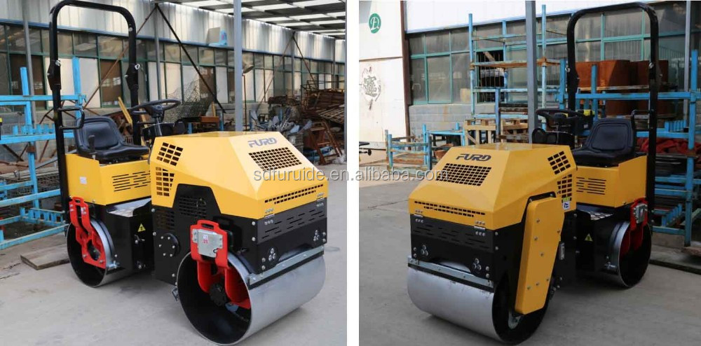 USA hot sale double drum asphalt roller with EPA standard engine (FYL-880)